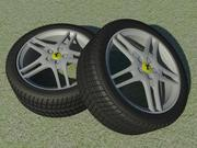 Alloy Wheel 430 3d model