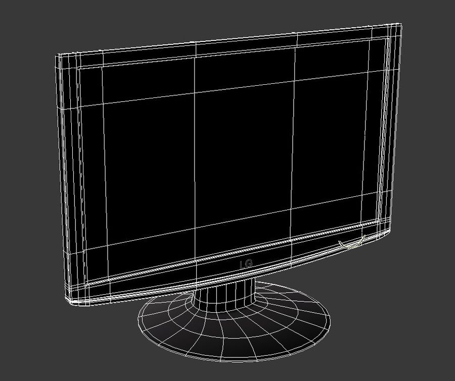Computer LCD-Monitor royalty-free 3d model - Preview no. 5