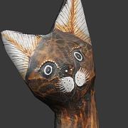 Posąg kota 3d model