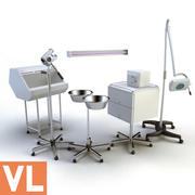 wyposażenie medyczne 3d model