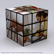 Рубикс с изображениями 3d model