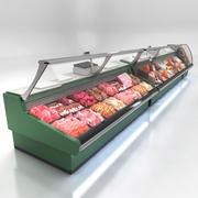 熟食柜台 3d model