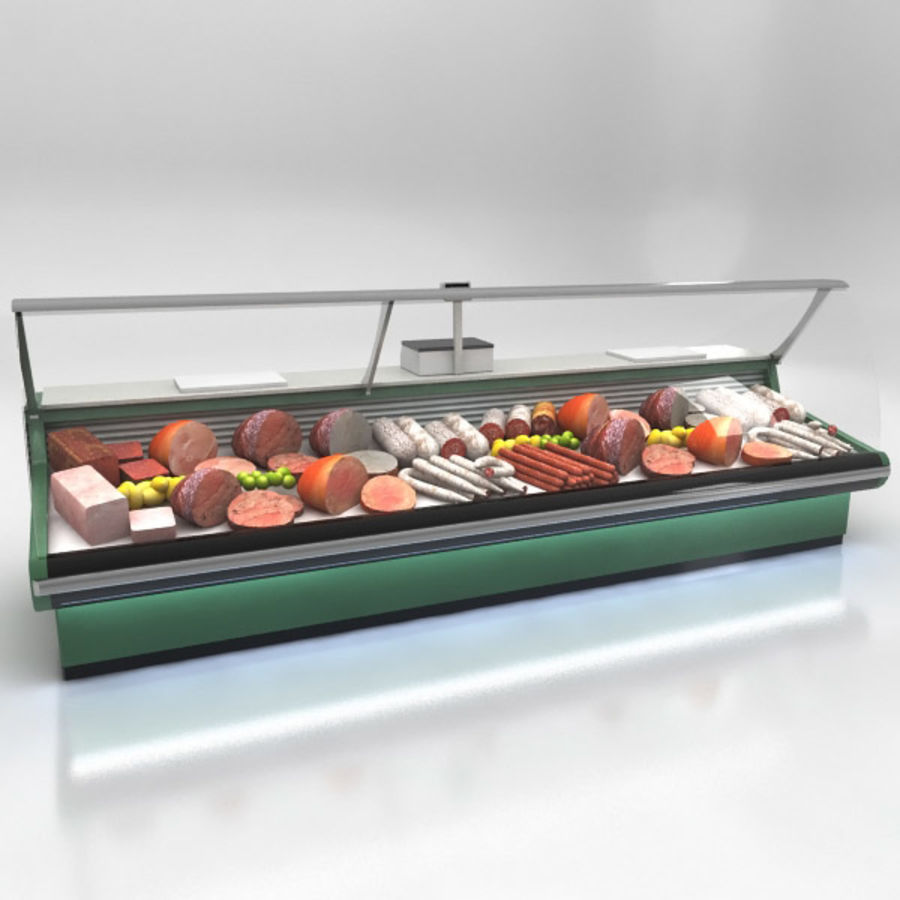 Deli Counters royalty-free 3d model - Preview no. 5