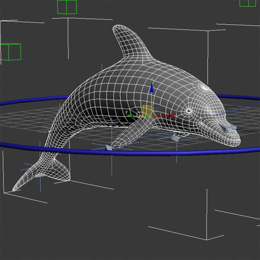 Delphin royalty-free 3d model - Preview no. 4