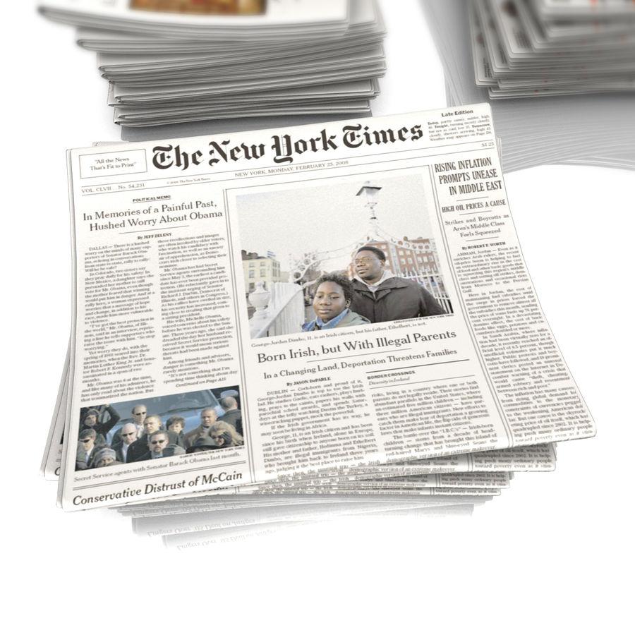 Newspaper 3D Model $20 -  obj  fbx  3ds  c4d - Free3D