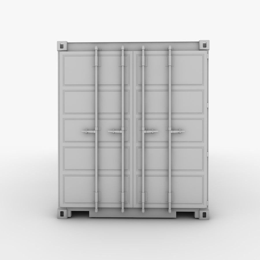 Shipping Container royalty-free 3d model - Preview no. 12