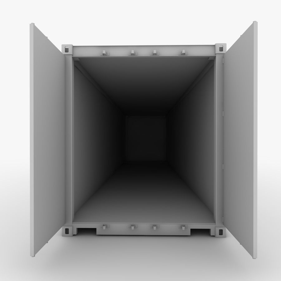 Shipping Container royalty-free 3d model - Preview no. 11