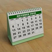 Kalendarz 3d model