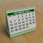 Kalender 3d model