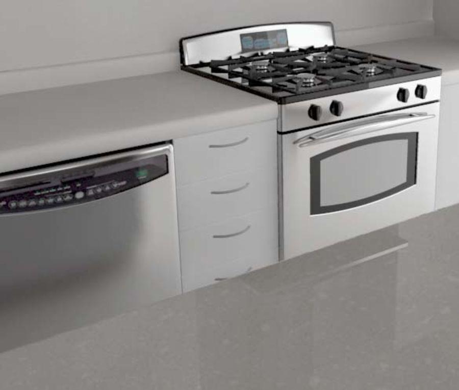 Alta definição Modern Classic Living Room royalty-free 3d model - Preview no. 5