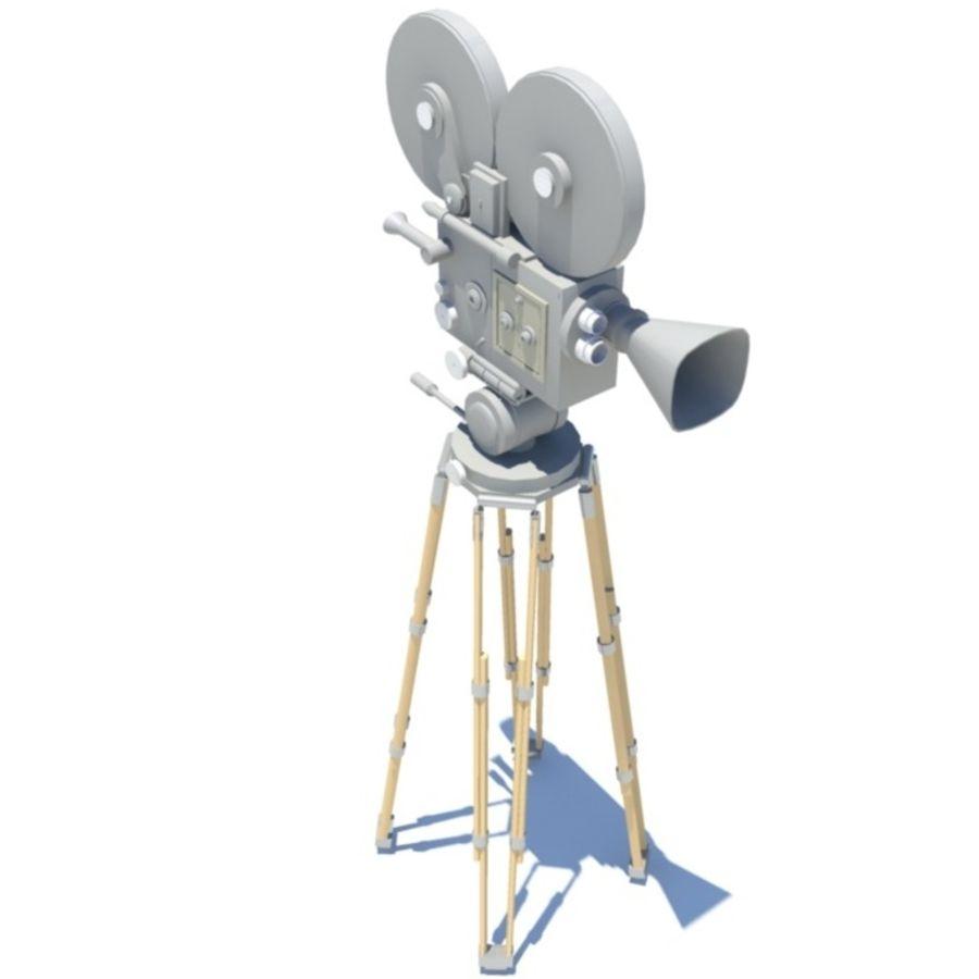 Filmowa kamera filmowa royalty-free 3d model - Preview no. 1