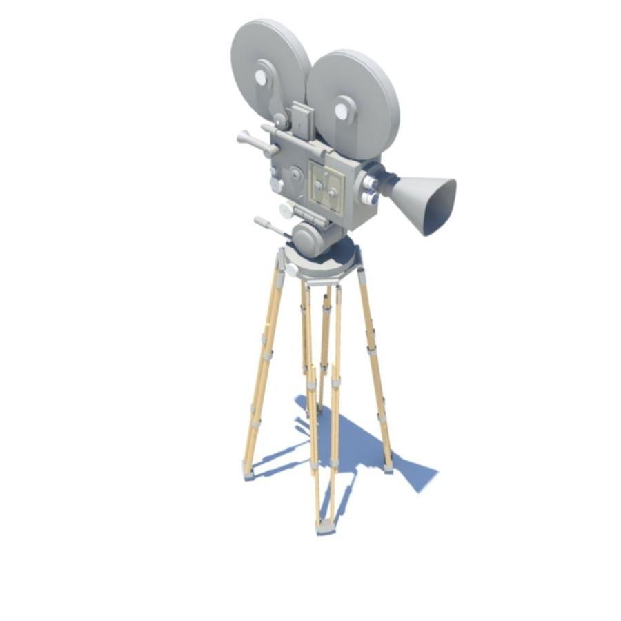 Filmowa kamera filmowa royalty-free 3d model - Preview no. 2
