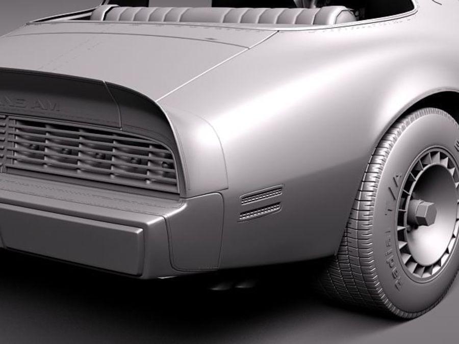 폰티악 파이어 버드 트랜스 오전 1979-81 SE royalty-free 3d model - Preview no. 12
