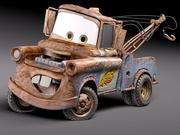 けん引車 3d model