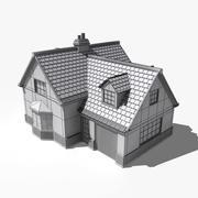 3D House 001 3d model