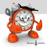 Reloj en vivo modelo 3d
