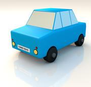 Speelgoedauto 3d model