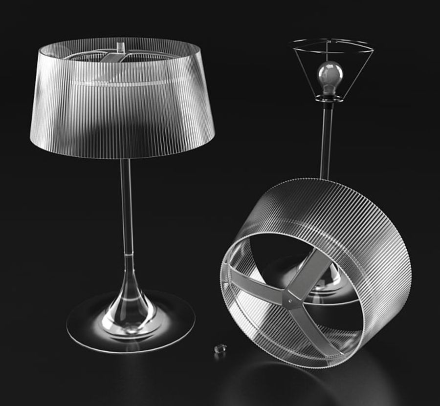 Lampe royalty-free 3d model - Preview no. 1