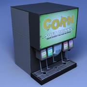 Soda Pop fountain 3d model