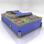 胸部冰柜 3d model