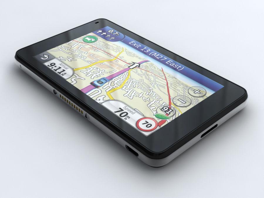 GARMIN NUVI 3760T royalty-free 3d model - Preview no. 4