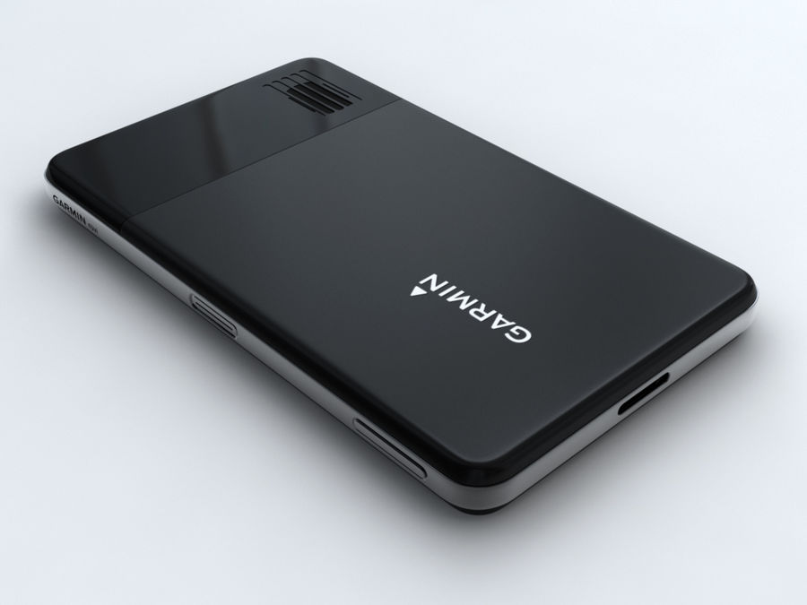 GARMIN NUVI 3760T royalty-free 3d model - Preview no. 6