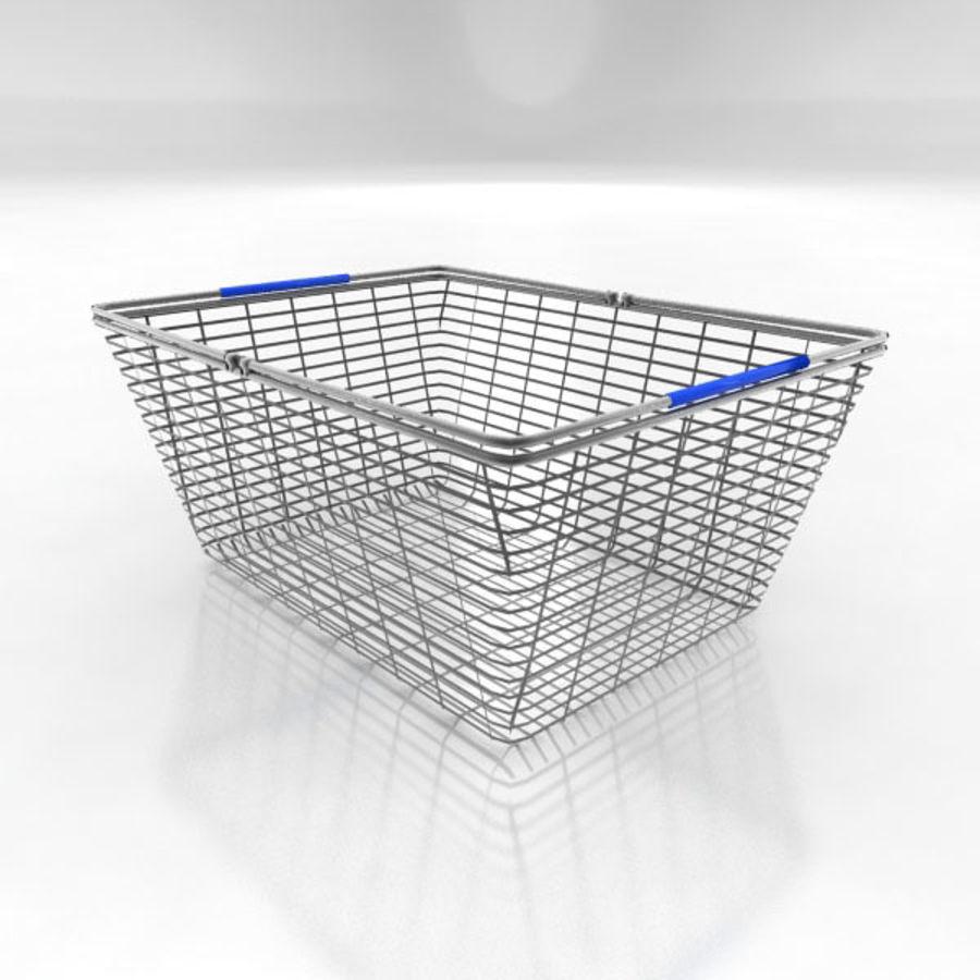 Koszyk na zakupy royalty-free 3d model - Preview no. 1