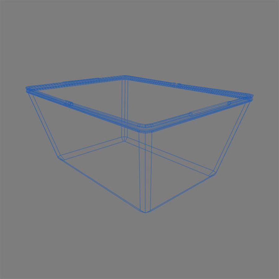 Koszyk na zakupy royalty-free 3d model - Preview no. 3