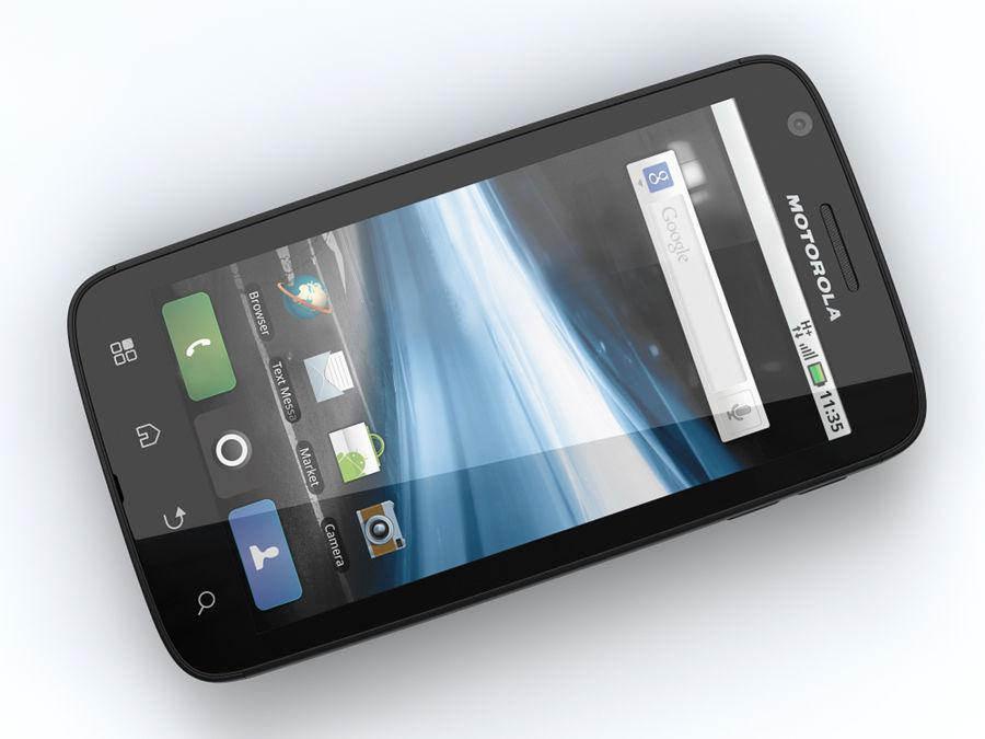 Motorola Atrix royalty-free 3d model - Preview no. 8
