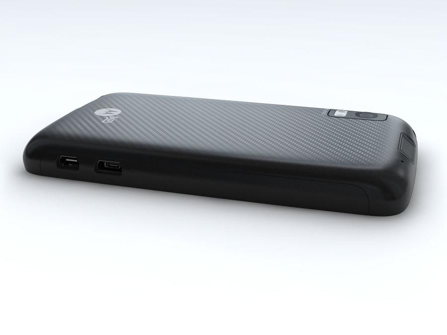 Motorola Atrix royalty-free 3d model - Preview no. 15
