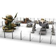 Buitenaardse apparatuur 3d model