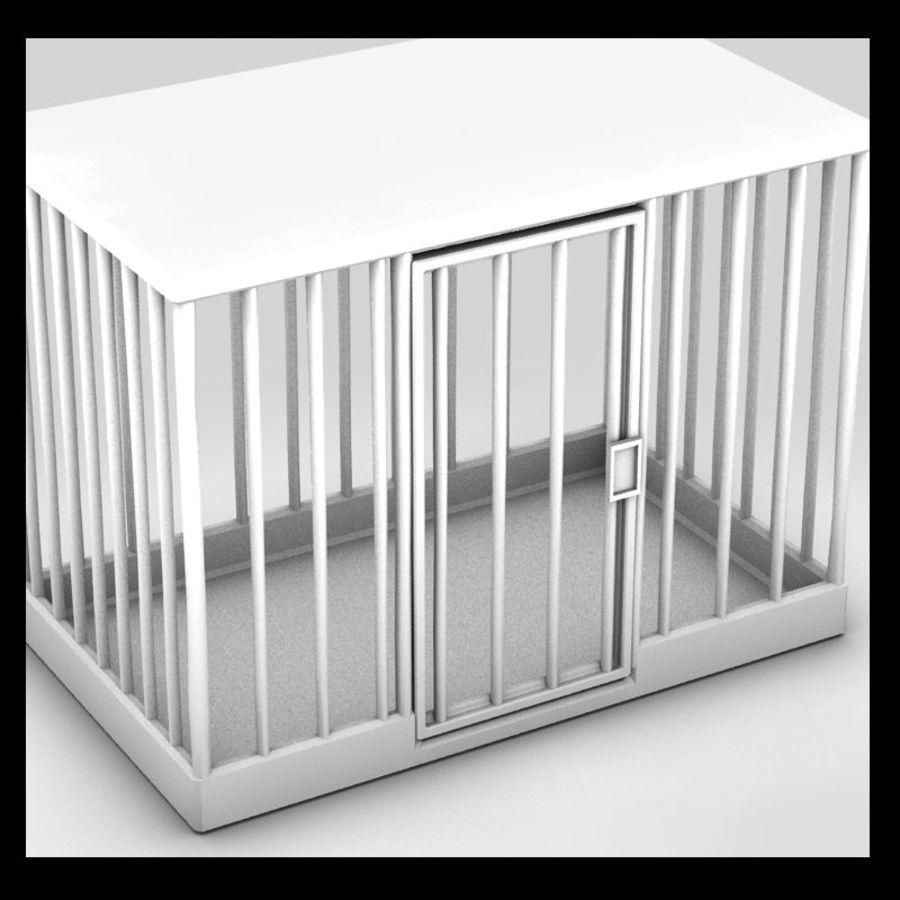 動物のおり royalty-free 3d model - Preview no. 2