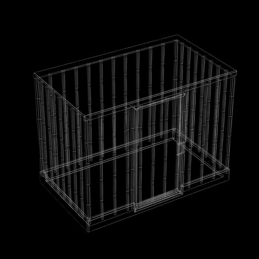 動物のおり royalty-free 3d model - Preview no. 4