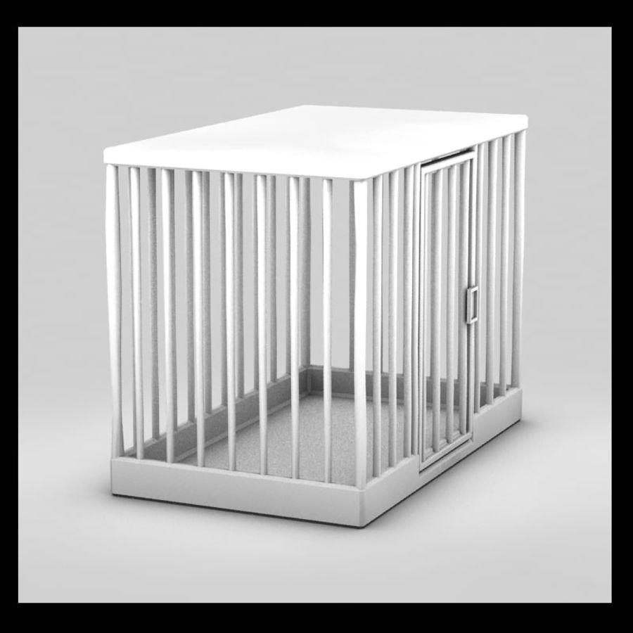 動物のおり royalty-free 3d model - Preview no. 5