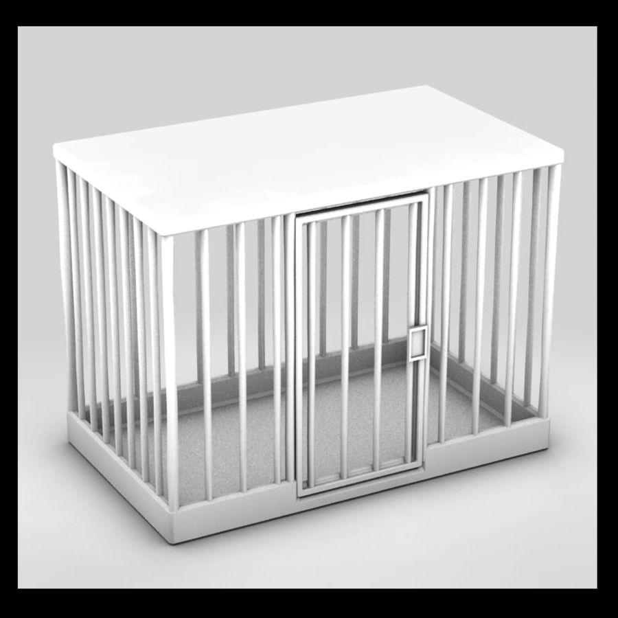 動物のおり royalty-free 3d model - Preview no. 1