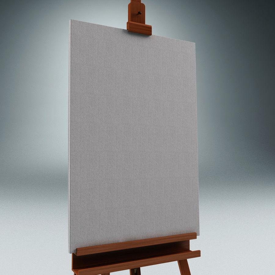 Studio Easel V2 royalty-free modelo 3d - Preview no. 5