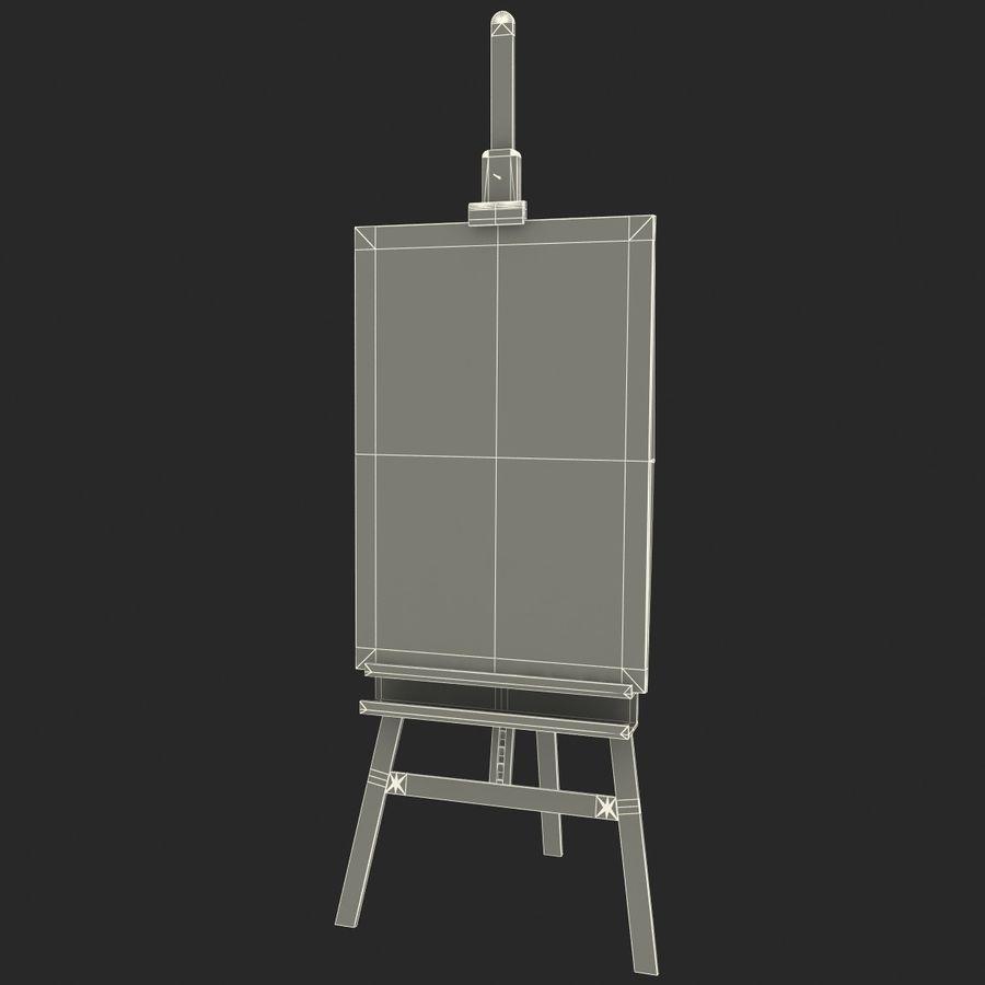 Studio Easel V2 royalty-free modelo 3d - Preview no. 10