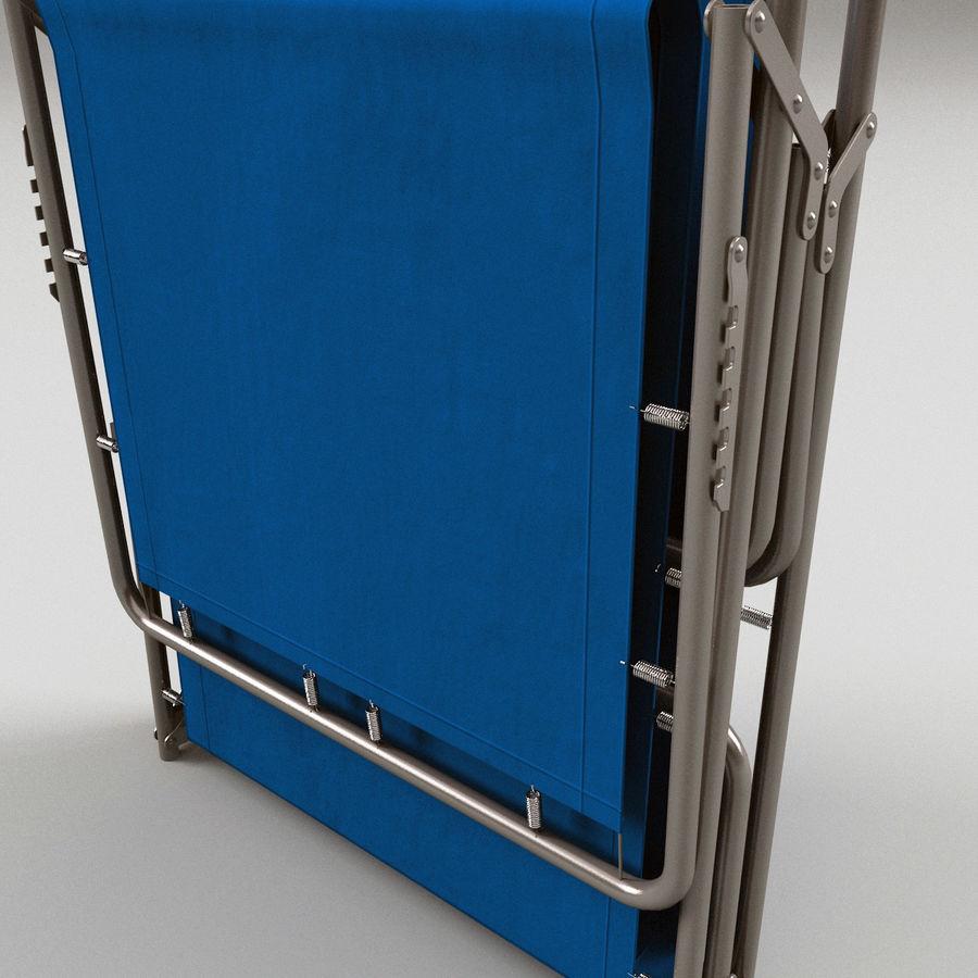 Lit pliant fermé royalty-free 3d model - Preview no. 5