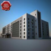 Industrial Building V3 3d model