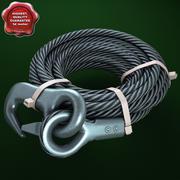 Cable de acero modelo 3d