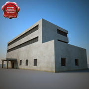 Industrial Building V5 3d model