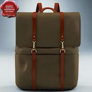 Plecak Mismo Brown 3d model