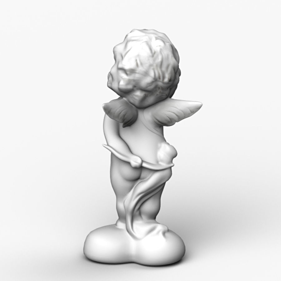 Angel royalty-free 3d model - Preview no. 4