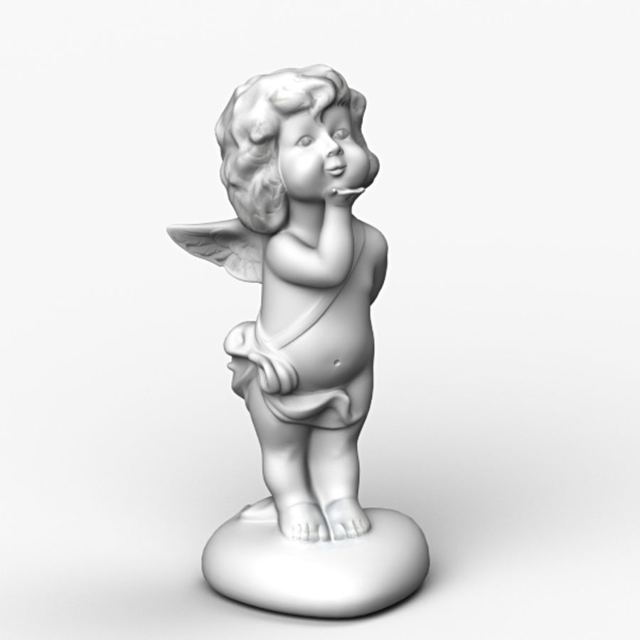 Angel royalty-free 3d model - Preview no. 2