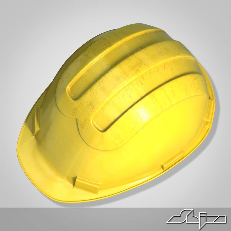 Каска royalty-free 3d model - Preview no. 2