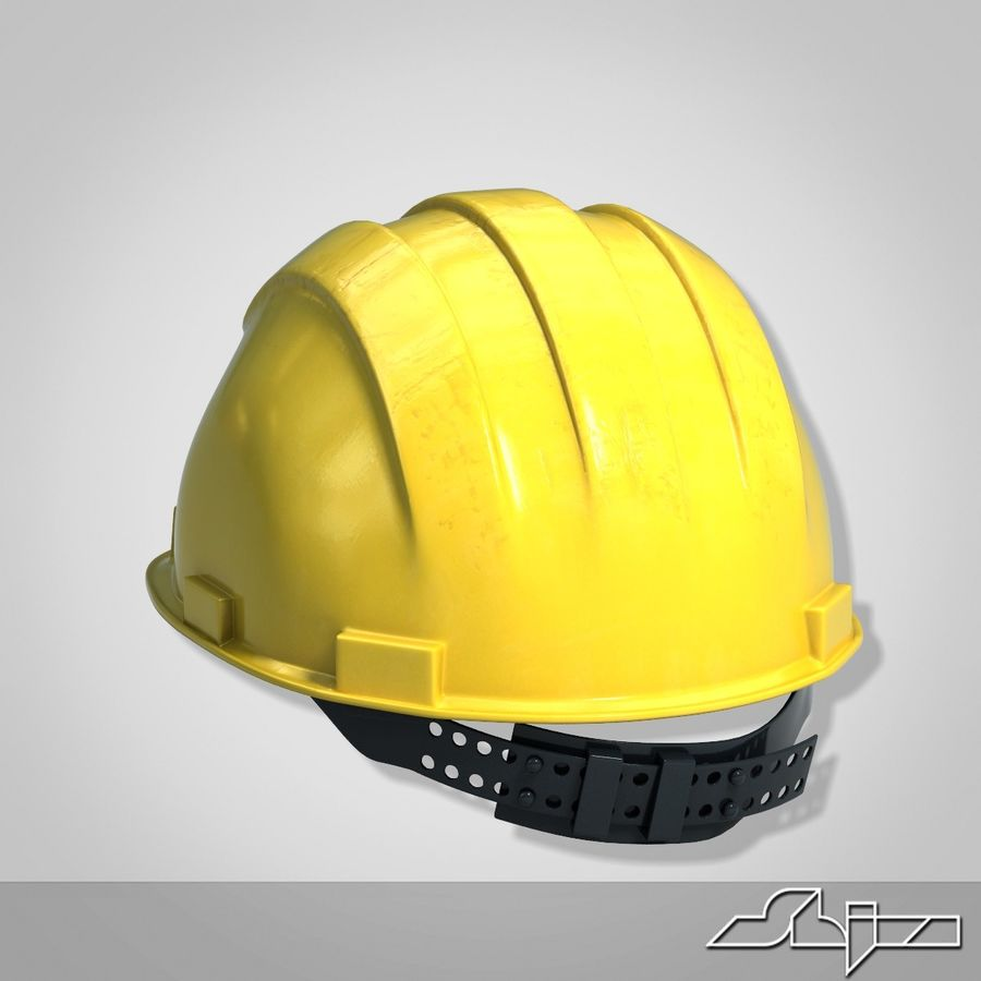 Каска royalty-free 3d model - Preview no. 4