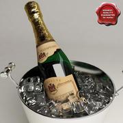 Champagne Buckets 3d model