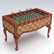 Fussball table08 3d model