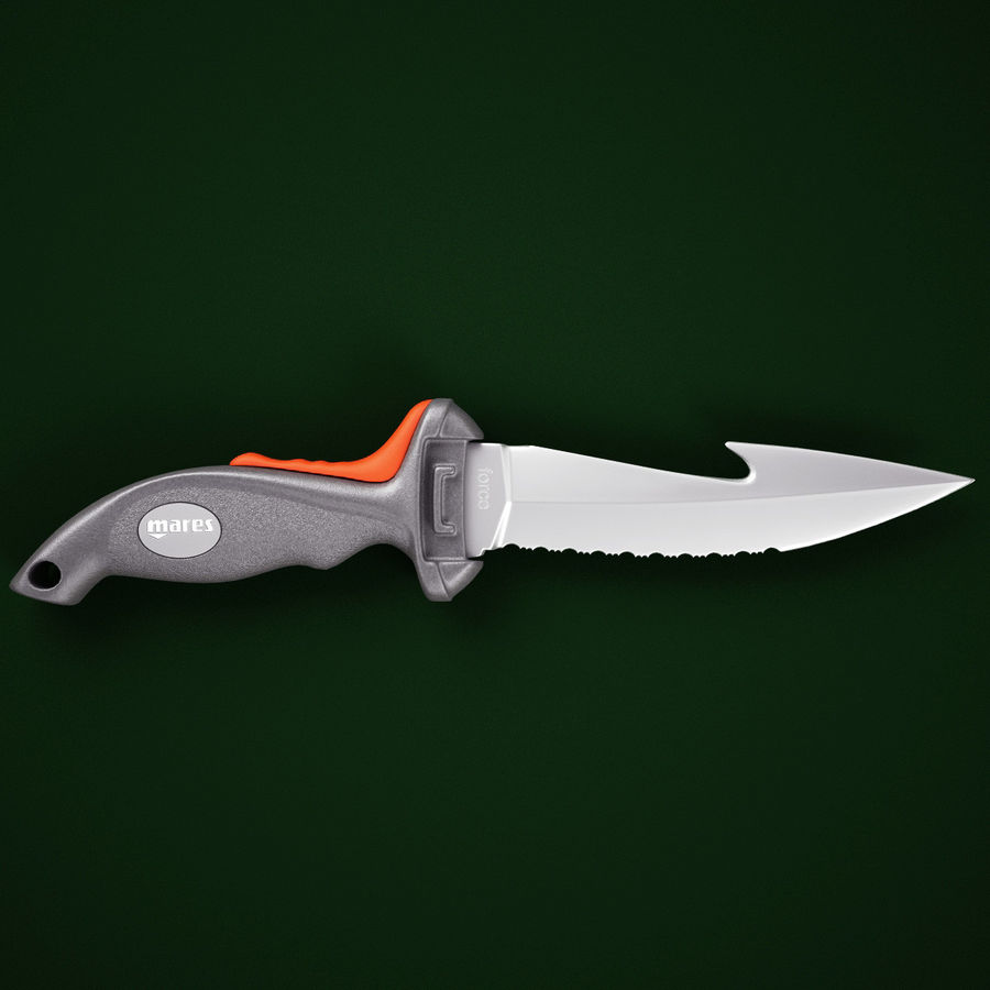 Mares Force Knife V2 royalty-free 3d model - Preview no. 2