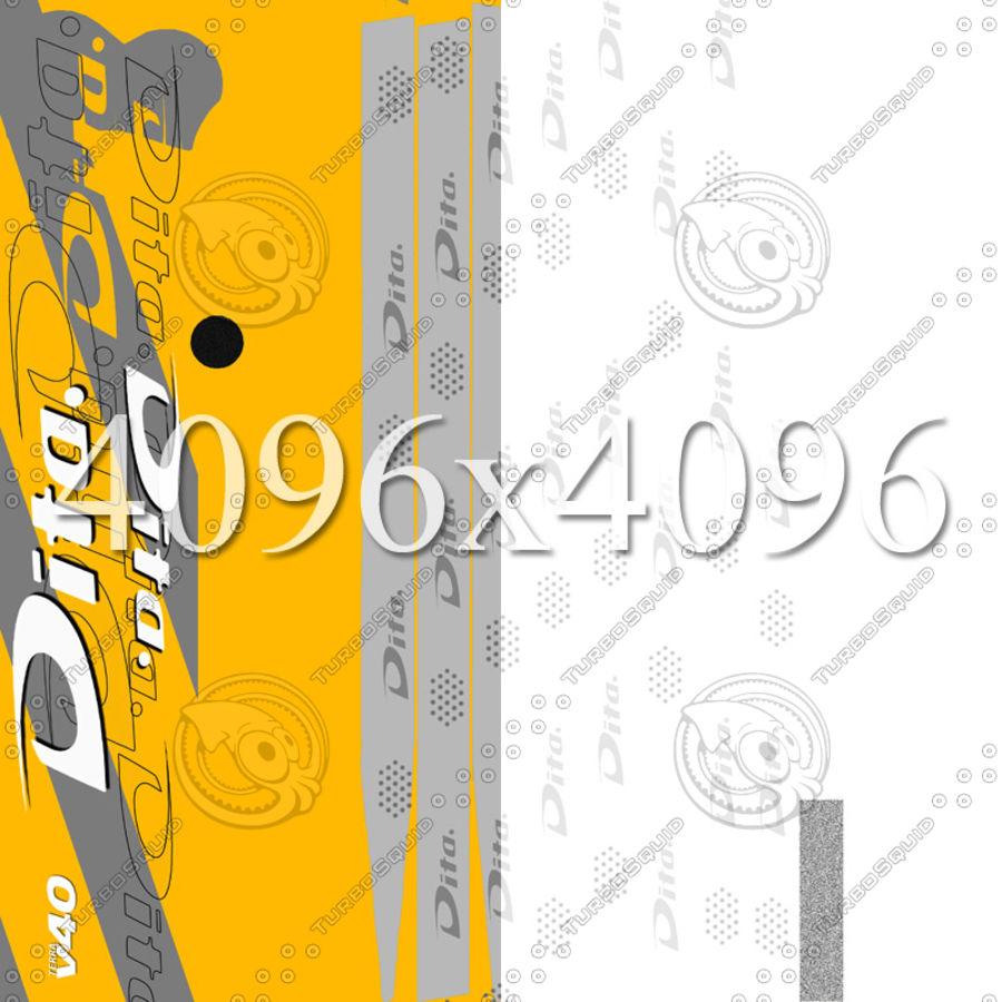 Çim hokeyi sopa Dita royalty-free 3d model - Preview no. 8